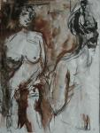 Reinder Bleeker - Nude in Mirror