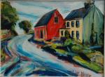 Reinder Bleeker - Pub beside road